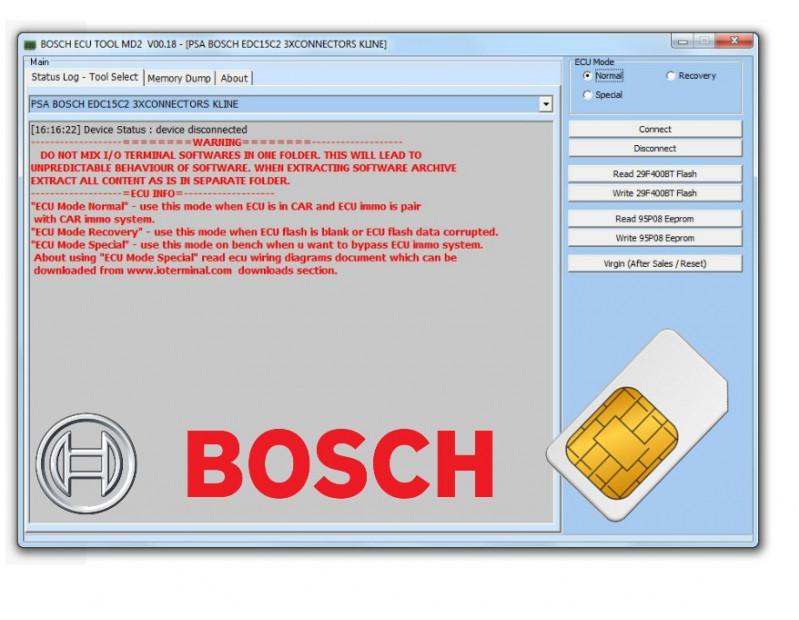 io terminal licence Bosch