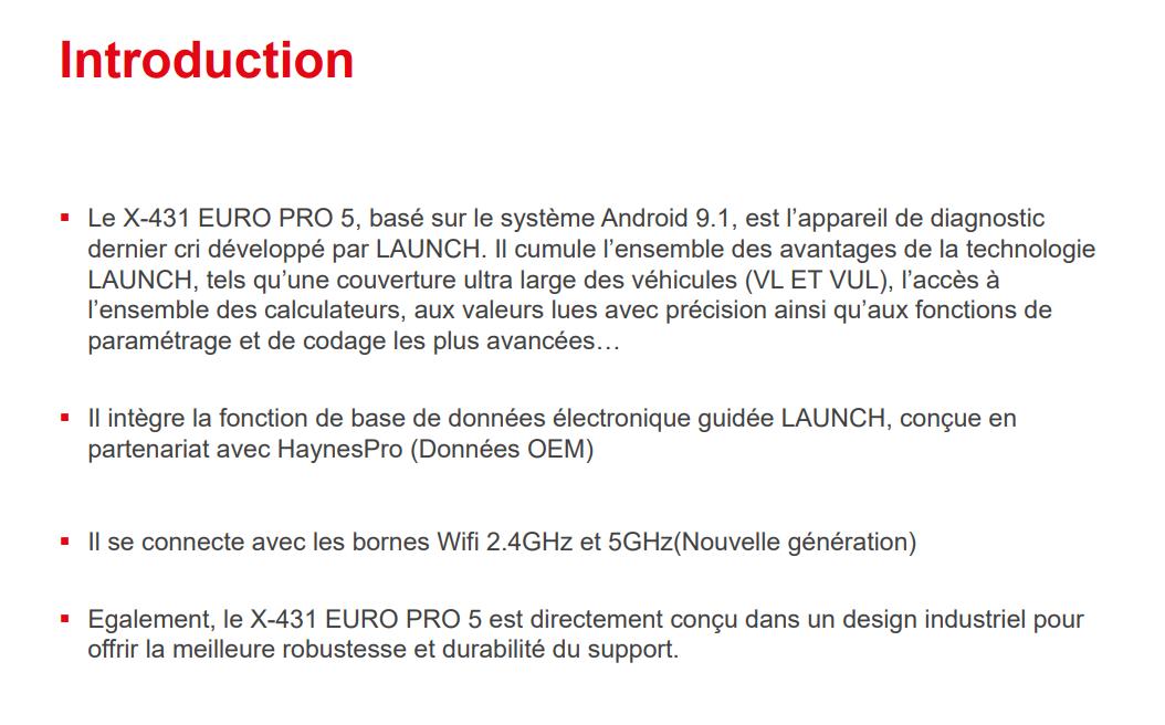 launch x431 euro5