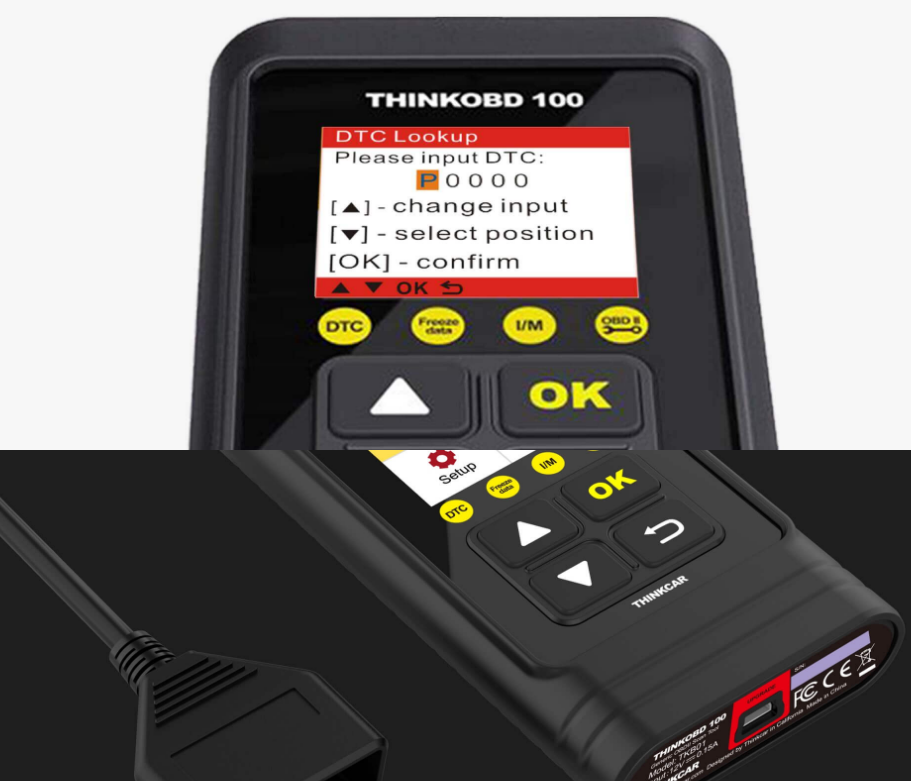 thinktool obd 100 appareil diagnostic